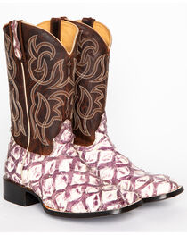 Cody James® Men's Pirarucu Thunder Exotic Boots, , hi-res