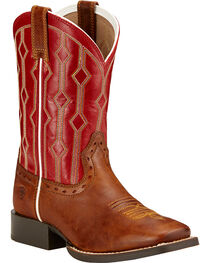 Ariat Kids' Live Wire Western Boots, , hi-res