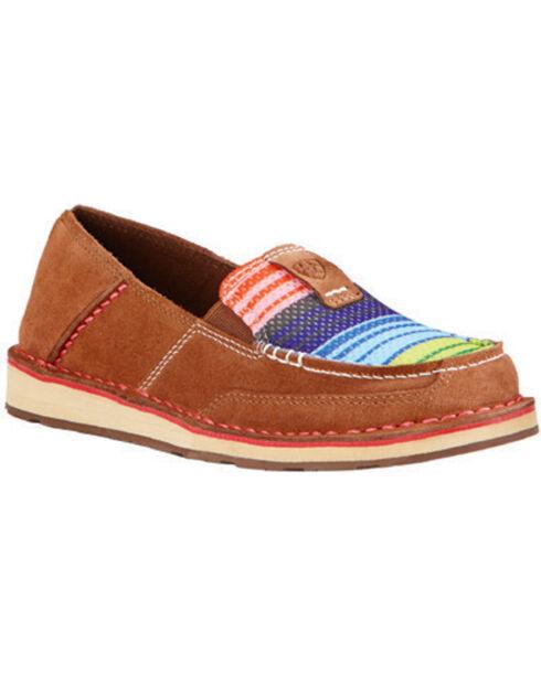 Ariat Women's Serape Cruiser Shoes, Brown, hi-res