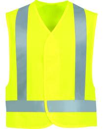 Red Kap Men's Class 2 Hi-Viz Safety Vest, , hi-res