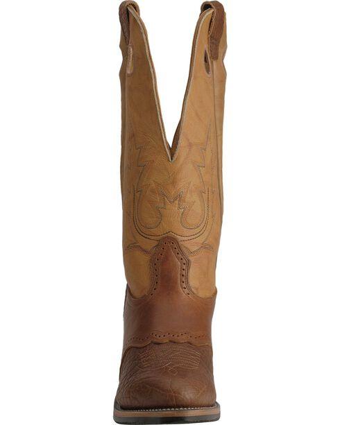 Boulet Men's Buckaroo Western Boots, Bay Apache, hi-res