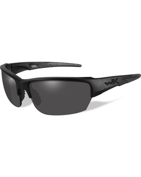 Wiley X Black Ops Saint Grey Matte Black Sunglasses   , Black, hi-res