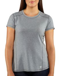 Carhartt Women's Force Short Sleeve Shirt, , hi-res