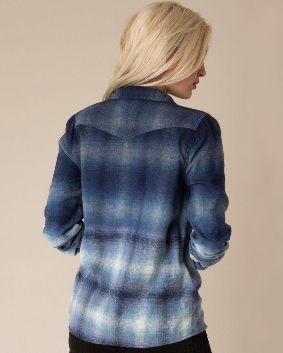 White Crow Women's Changing Horizons Dip-Dye Flannel, , hi-res