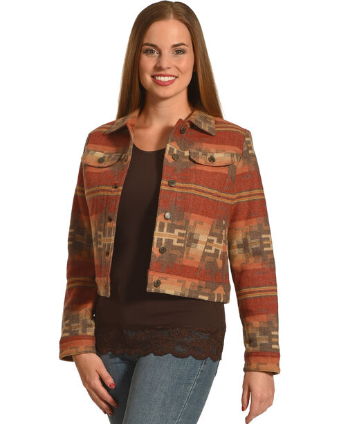 Pendleton Women's Aurora Jean Jacket , Multi, hi-res