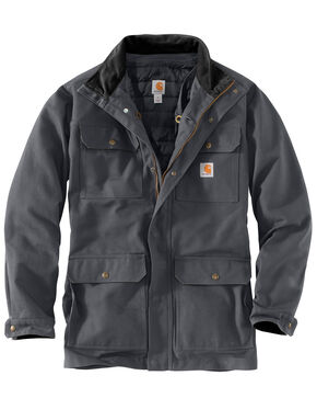 Carhartt Men's Field Coat , Dark Grey, hi-res