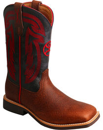Twisted X HOOey Kids' Logo Western Boots, , hi-res