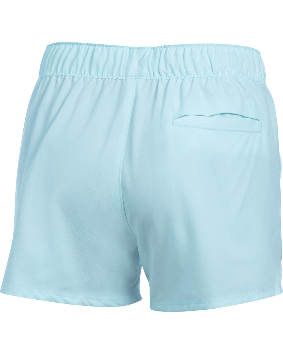 Under Armour Women's Light Blue Hiking Shorts, Light Blue, hi-res