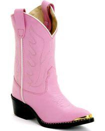 Jama Children's Cushion Comfort Western Boots, , hi-res