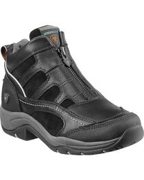 Ariat Women's Waterproof Terrain Zip-Up Shoes, , hi-res