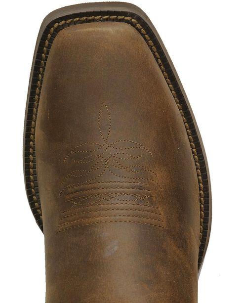 """Justin Men's Stampede Western 13"""" Square Toe Boots, Sorrel, hi-res"""