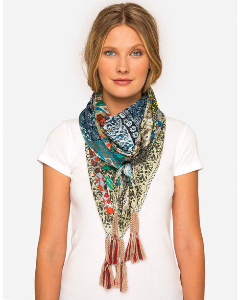 Johnny Was Women's Valoom Scarf , Multi, hi-res