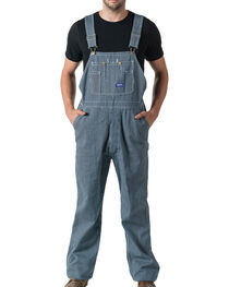 Walls Big Smith Men's Hickory Stripe Bib Overall - Big and Tall, , hi-res