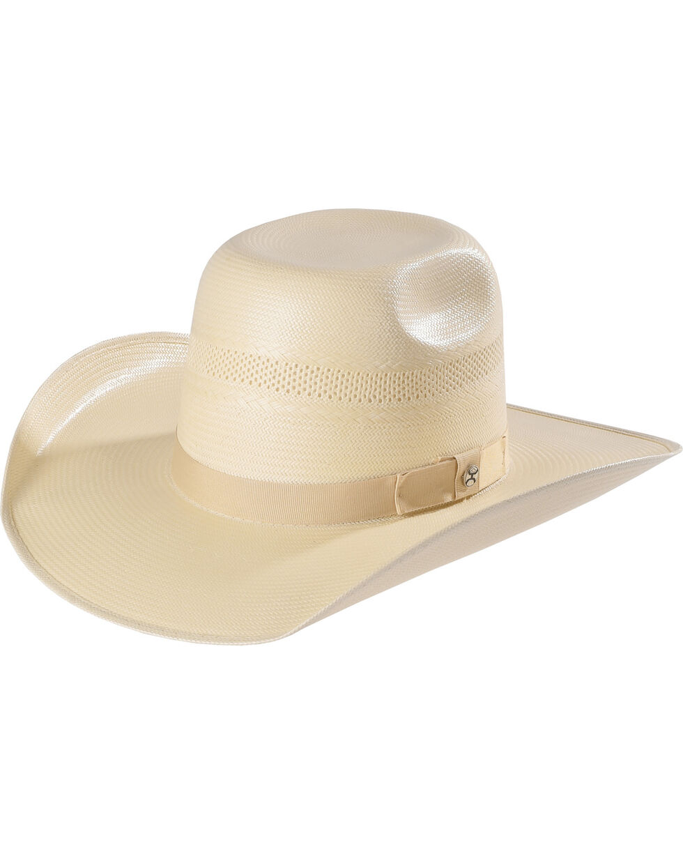 Hooey by Resistol Men's Natural Santa Fe Straw Cowboy Hat , Natural, hi-res