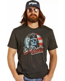 Rock & Roll Cowboy Men's Black Patriotic Dale Brisby Tee, , hi-res