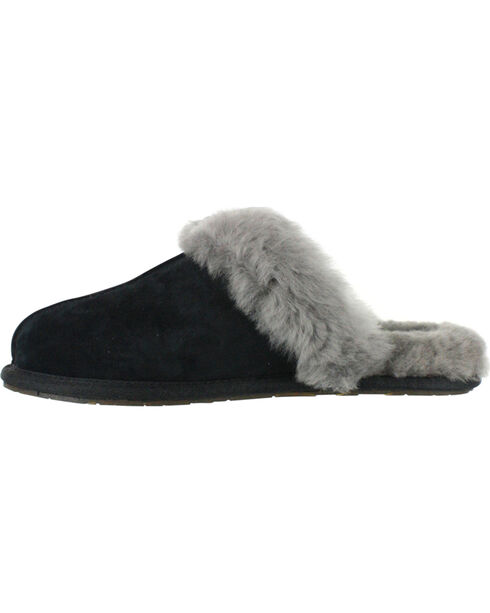 UGG® Women's Scuffette Slippers, Black, hi-res