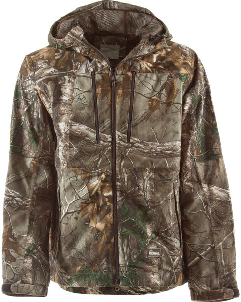 Berne Realtree Camo Peninsula Rain Jacket - 3XL and 4XL, , hi-res
