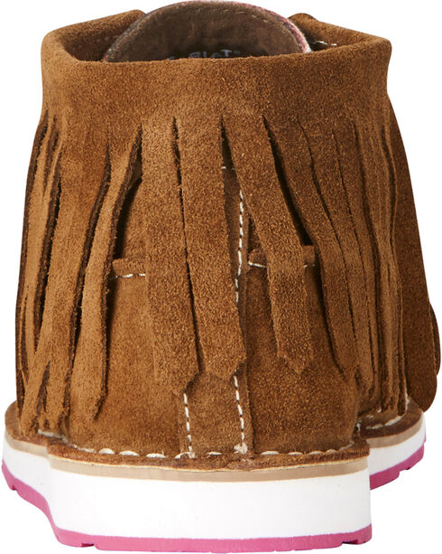 Ariat Women's Fringe Crusier Shoes, Dark Brown, hi-res