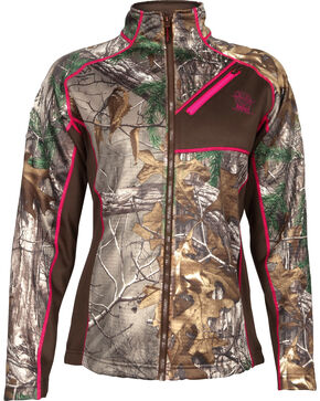 Rocky Women's Realtree Xtra Camo Fleece Jacket, Camouflage, hi-res