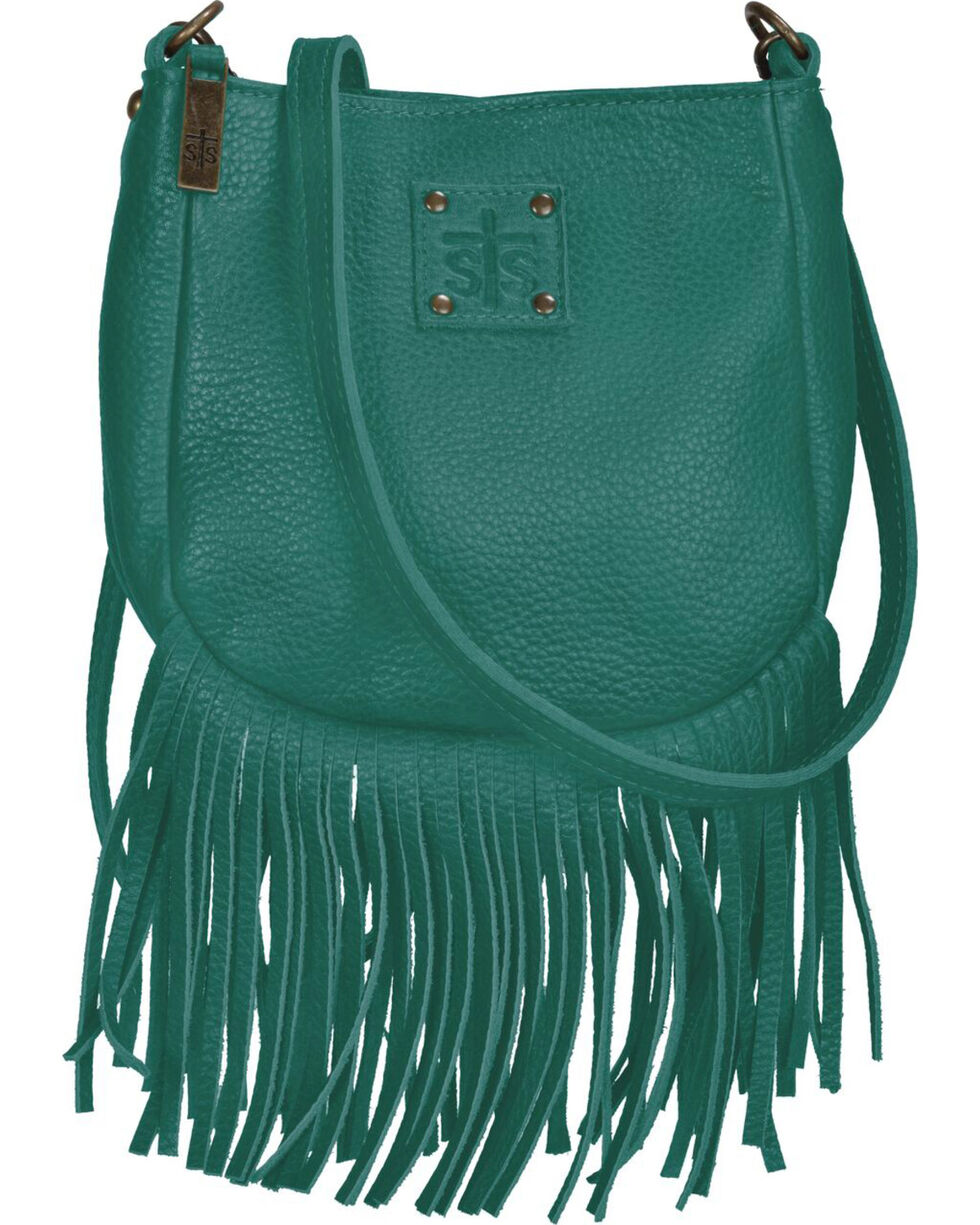 STS Ranchwear Jade Medicine Bag , Light Green, hi-res