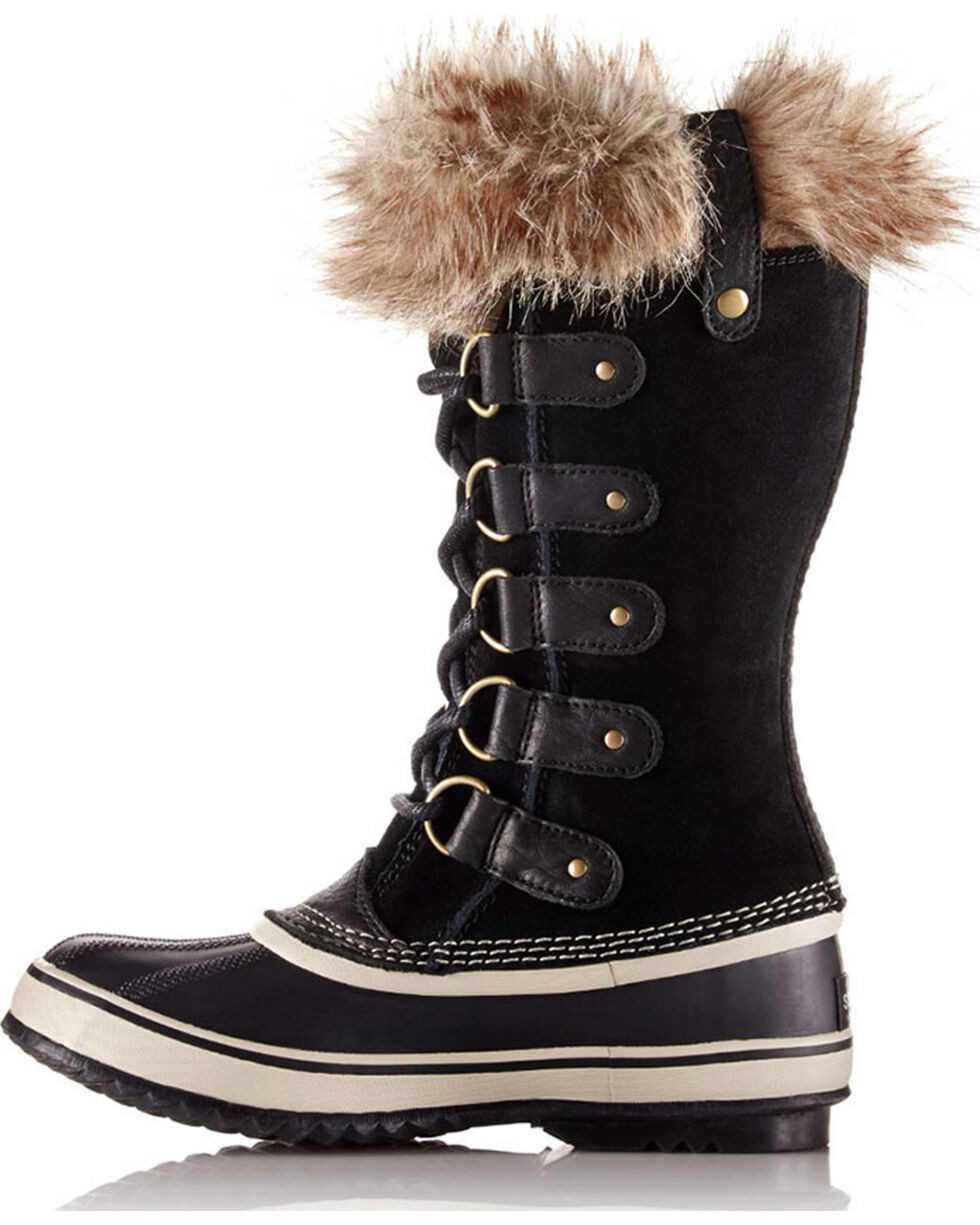 Sorel Women's Joan of Arctic Winter Boots, Black, hi-res