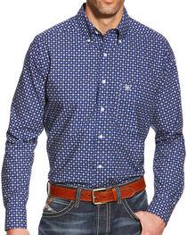 Ariat Men's Turner Print Long Sleeve Shirt, , hi-res