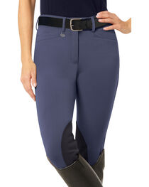 Ovation Women's Teen Celebrity DX Knee Patch Breeches, , hi-res