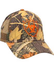 Ariat Men's Camo Mesh Logo Cap, , hi-res