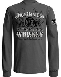 Jack Daniel's Men's Grey Old Time Whiskey T-Shirt , , hi-res