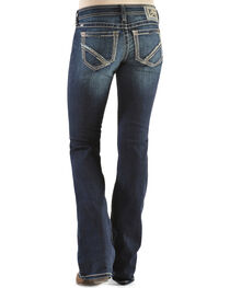 Ariat Women's Ruby Frayed Edge Loveless Bootcut Jeans, , hi-res