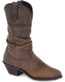 "Durango Women's Slouch 11"" Western Boots, , hi-res"