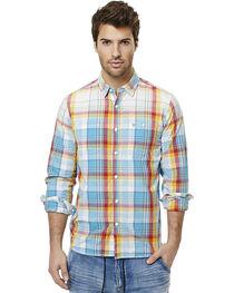 Buffalo Men's Sijax Plaid Long Sleeve Shirt , , hi-res