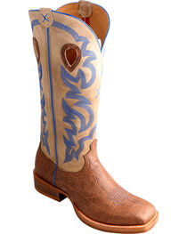 Twisted X Men's Buckaroo CWS Toe Western Boots, , hi-res