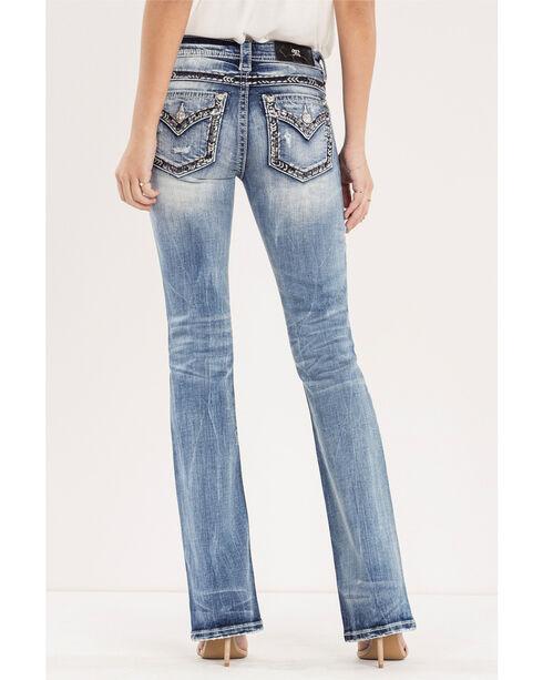 Miss Me Women's Indigo No Boundaries Jeans - Boot Cut , Indigo, hi-res