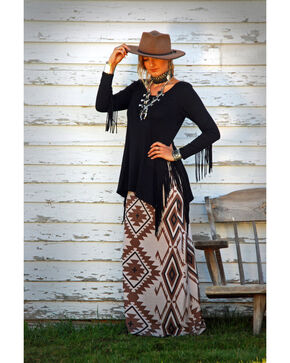 Tasha Polizzi Women's Artist Skirt , Tan, hi-res