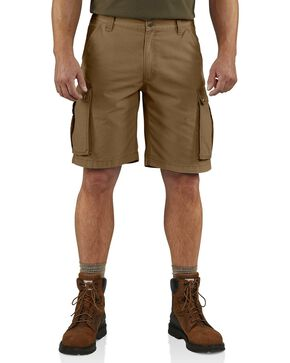 Carhartt Men's Rugged Cargo Shorts, Brown, hi-res