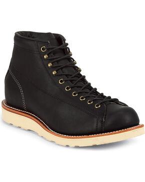 Chippewa Men's Odessa Utility Bridgemen Boots, Black, hi-res