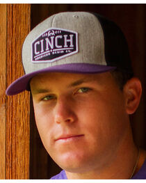 Cinch Men's Logo Patch Ball Cap, , hi-res