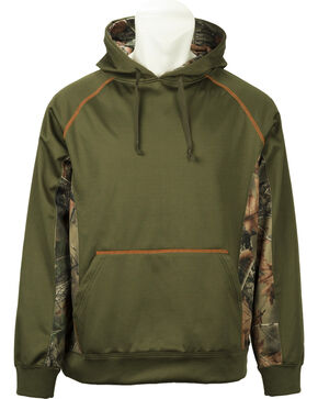 Trail Crest XRG Softshell Hoodie, Olive Green, hi-res