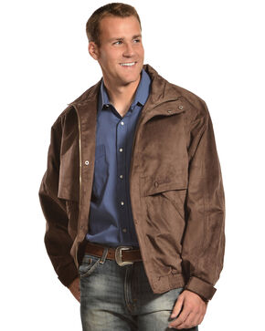Outback Unisex Waterproof Rambler Jacket, Brown, hi-res