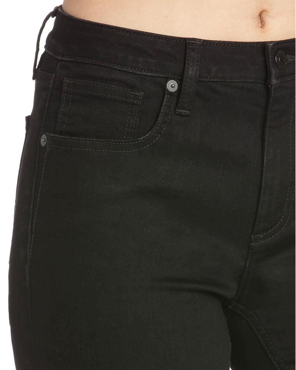 Miss Me Women's Slim Fit Skinny Jeans , Black, hi-res