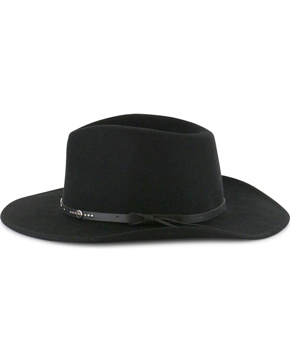 Cody James® Men's Sedona Wool Hat, Black, hi-res