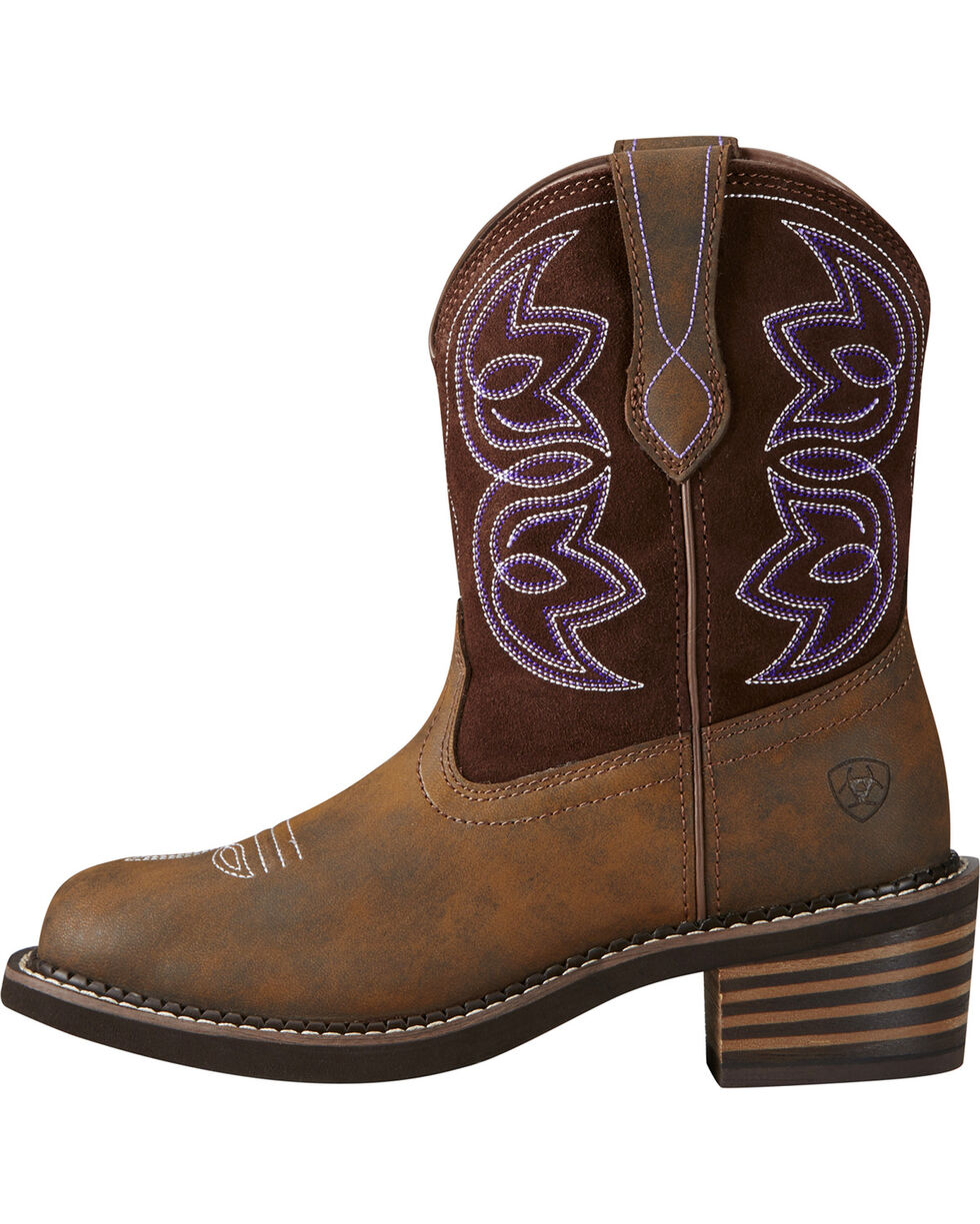 Ariat Women's Charlotte Western Boots, Brown, hi-res