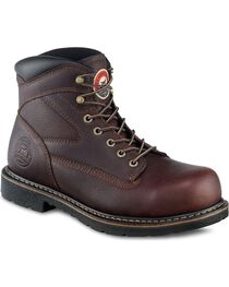 "Irish Setter by Red Wing Farmington King Toe 6"" Lace-Up Work Boots - Steel Toe, , hi-res"