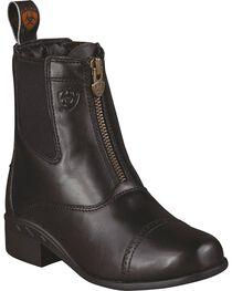 Ariat Kid's Devon III Paddock Boots, , hi-res