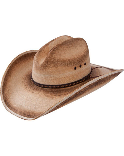 Resistol Men's Jason Aldean Georgia Boy Straw Hat , Multi, hi-res