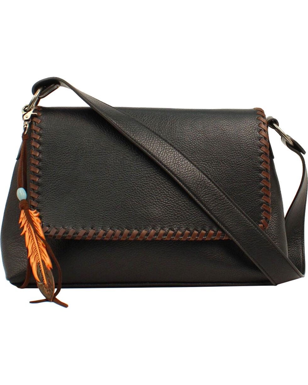 Blazin Roxx Women's Black Tegan Conceal Carry Shoulder Bag , Black, hi-res