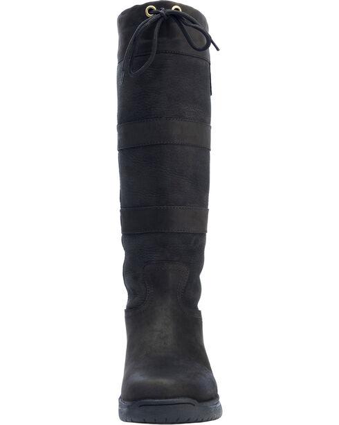 Dublin River Tall Equestrian Boots, Black, hi-res
