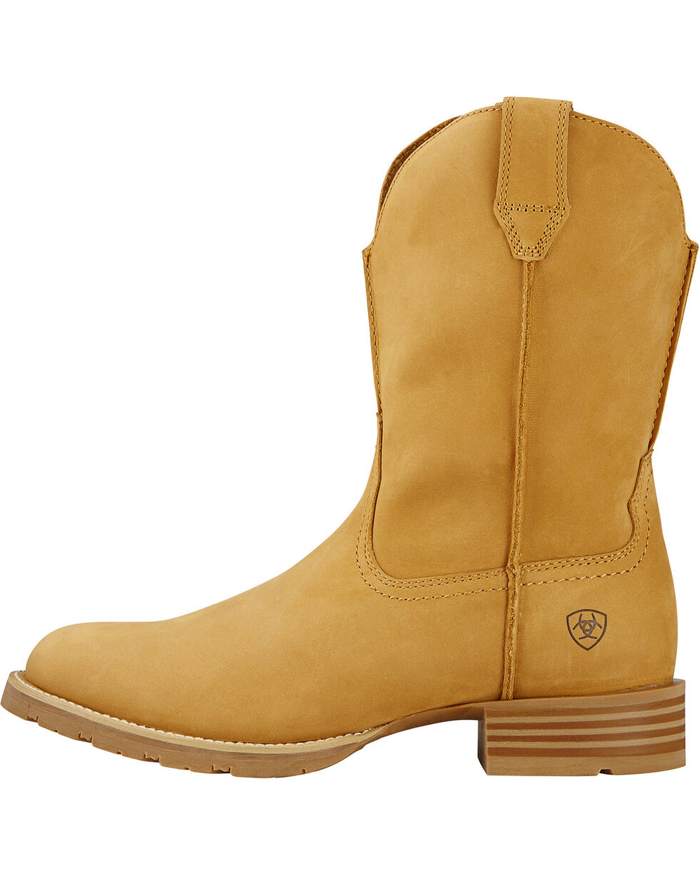 Ariat Men's Hybrid Street Cowboy Boots, Wheat, hi-res
