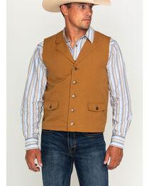 Cody James Men's Dagget Canvas Vest, , hi-res